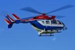 kamerajiijiさんが、東京ヘリポートで撮影した川崎市消防航空隊 BK117C-2の航空フォト(写真)