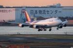 グリスさんが、羽田空港で撮影したタイ国際航空 747-4D7の航空フォト(写真)