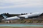 T.Kawaseさんが、成田国際空港で撮影したキャセイパシフィック航空 777-367の航空フォト(写真)
