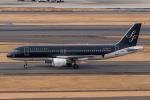 らむえあたーびんさんが、羽田空港で撮影したスターフライヤー A320-214の航空フォト(写真)