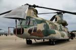 もぐ3さんが、那覇空港で撮影した航空自衛隊 CH-47J/LRの航空フォト(写真)