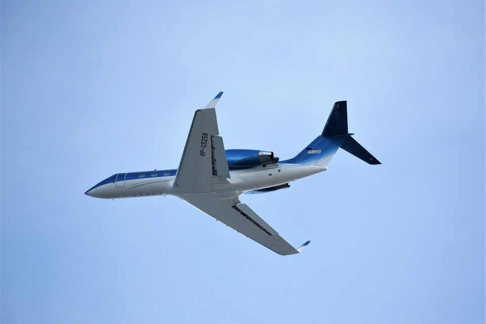 T.Sazenさんの不詳 Gulfstream Aerospace G350/G450 (G-IV) (RP-C5258) 航空フォト