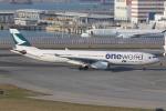 taka777さんが、香港国際空港で撮影したキャセイパシフィック航空 A330-343Xの航空フォト(写真)