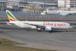 taka777さんが、香港国際空港で撮影したエチオピア航空 787-8 Dreamlinerの航空フォト(写真)