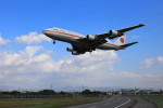 N村さんが、松山空港で撮影した航空自衛隊 747-47Cの航空フォト(写真)