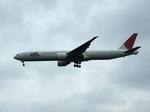 アイスコーヒーさんが、成田国際空港で撮影した日本航空 777-346/ERの航空フォト(飛行機 写真・画像)