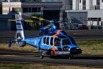 Mizuki24さんが、東京ヘリポートで撮影した警視庁 EC155B1の航空フォト(写真)