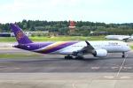 Kuuさんが、成田国際空港で撮影したタイ国際航空 A350-941の航空フォト(飛行機 写真・画像)