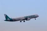 ★azusa★さんが、成田国際空港で撮影したエアソウル A321-231の航空フォト(写真)