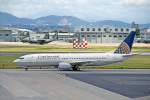 Gambardierさんが、名古屋飛行場で撮影したコンチネンタル航空 737-824の航空フォト(写真)