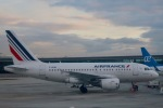 マッペケさんが、パリ シャルル・ド・ゴール国際空港で撮影したエールフランス航空 A318-111の航空フォト(写真)