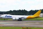 Kuuさんが、成田国際空港で撮影したポーラーエアカーゴ 747-87UF/SCDの航空フォト(写真)