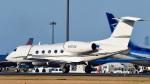 パンダさんが、成田国際空港で撮影したユタ銀行 G-IV-X Gulfstream G450の航空フォト(写真)