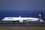 とらとらさんが、羽田空港で撮影したルフトハンザドイツ航空 A350-941XWBの航空フォト(飛行機 写真・画像)