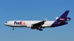 パンダさんが、成田国際空港で撮影したフェデックス・エクスプレス MD-11Fの航空フォト(写真)