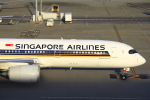 とらとらさんが、羽田空港で撮影したシンガポール航空 A350-941XWBの航空フォト(飛行機 写真・画像)