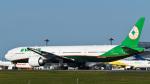 パンダさんが、成田国際空港で撮影したエバー航空 777-3SH/ERの航空フォト(写真)