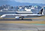 れんしさんが、福岡空港で撮影したシンガポール航空 787-10の航空フォト(写真)