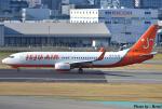 れんしさんが、福岡空港で撮影したチェジュ航空 737-8BKの航空フォト(写真)