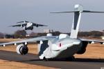 グリスさんが、入間飛行場で撮影した航空自衛隊 XC-2の航空フォト(写真)