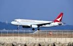 くれないさんが、徳島空港で撮影したキャセイドラゴン A320-232の航空フォト(飛行機 写真・画像)