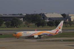 しかばねさんが、ドンムアン空港で撮影したノックエア 737-88Lの航空フォト(飛行機 写真・画像)