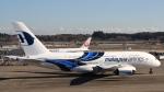 Cassiopeia737さんが、成田国際空港で撮影したマレーシア航空 A380-841の航空フォト(写真)