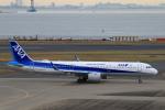 ★azusa★さんが、羽田空港で撮影した全日空 A321-272Nの航空フォト(写真)