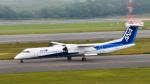 パンダさんが、新千歳空港で撮影したANAウイングス DHC-8-402Q Dash 8の航空フォト(飛行機 写真・画像)