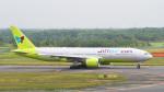 パンダさんが、新千歳空港で撮影したジンエアー 777-2B5/ERの航空フォト(飛行機 写真・画像)