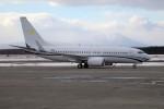 北の熊さんが、新千歳空港で撮影したスイフライト・エアクラフト 737-7EL BBJの航空フォト(写真)