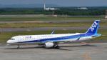 パンダさんが、新千歳空港で撮影した全日空 A321-211の航空フォト(写真)