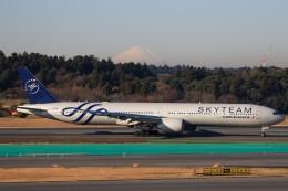 ☆ライダーさんが、成田国際空港で撮影したエールフランス航空 777-328/ERの航空フォト(飛行機 写真・画像)