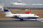 yabyanさんが、中部国際空港で撮影したプライベートエア CL-600-2B16 Challenger 604の航空フォト(飛行機 写真・画像)