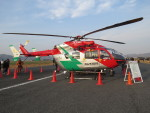 sp3混成軌道さんが、笠岡ふれあい空港で撮影した岡山市消防航空隊 BK117C-2の航空フォト(写真)