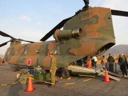 F.YUKIHIDEさんが、笠岡ふれあい空港で撮影した陸上自衛隊 CH-47Jの航空フォト(飛行機 写真・画像)