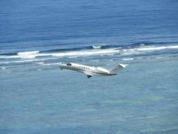 おっつんさんが、新石垣空港で撮影した国土交通省 航空局 525C Citation CJ4の航空フォト(写真)