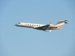 おっつんさんが、新石垣空港で撮影したTVPX AIRCRAFT SOLUTIONS INC TRUSTEE NORTH SALT LAKE , UT, US  G-V-SP Gulfstream G550の航空フォト(写真)