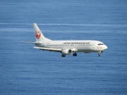おっつんさんが、新石垣空港で撮影した日本トランスオーシャン航空 737-446の航空フォト(写真)