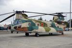 ちゃぽんさんが、横田基地で撮影した航空自衛隊 CH-47J/LRの航空フォト(写真)