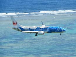 おっつんさんが、新石垣空港で撮影した日本トランスオーシャン航空 737-8Q3の航空フォト(写真)