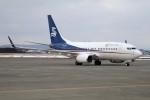 北の熊さんが、新千歳空港で撮影した華龍航空 737-7CG BBJの航空フォト(写真)