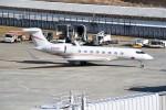 kumagorouさんが、仙台空港で撮影したユタ銀行 G650 (G-VI)の航空フォト(飛行機 写真・画像)