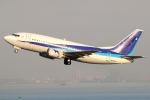 まえちんさんが、羽田空港で撮影したユニカル・アヴィエーション 737-5L9の航空フォト(写真)
