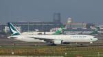 2wmさんが、台湾桃園国際空港で撮影したキャセイパシフィック航空 777-31Hの航空フォト(写真)