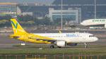 2wmさんが、台湾桃園国際空港で撮影したバニラエア A320-214の航空フォト(写真)