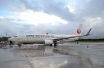 kohei787さんが、アントニオ・B・ウォン・パット国際空港で撮影した日本トランスオーシャン航空 737-8Q3の航空フォト(写真)