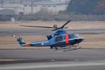 ITM44さんが、名古屋飛行場で撮影した青森県警察 412EPの航空フォト(写真)