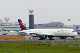 panchiさんが、成田国際空港で撮影したデルタ航空 A350-941XWBの航空フォト(飛行機 写真・画像)