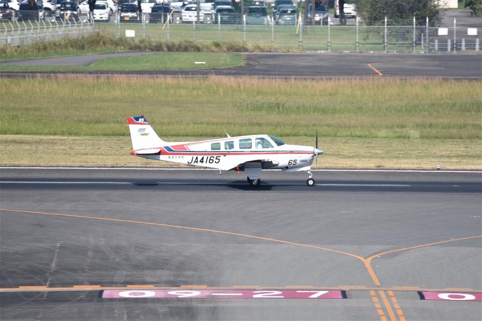 kumagorouさんの航空大学校 Beechcraft 36 Bonanza (JA4165) 航空フォト